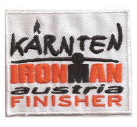 Ironman Finisher Kärtnen IRON MAN Austria Patch Abzeichen Aufnäher