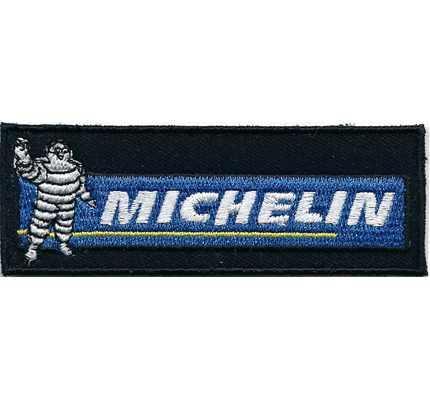 Michelin Racing Team MotoGP Formel1 Motorsport Reifen Aufnäher Patch