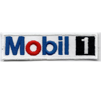 Mobil Mobil 1 Racing MotoGP Formel1 Motorsport Motoröl Aufnäher Patch
