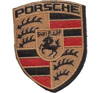 Porsche Stuttgart Motorsport 911 Carrera Club Racing Aufnäher Abzeichen