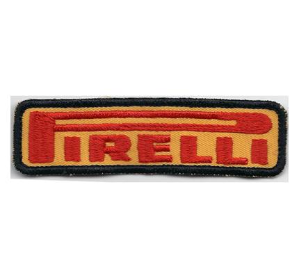 Pirelli Racing MotoGP Formel1 Motorsport Reifen Aufnäher Aufbügler