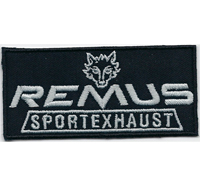 REMUS Sportauspuff Sportexhaust Racing MotoGP Motorsport Aufnäher