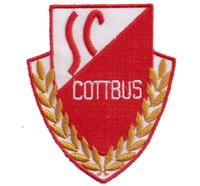 DDR SC Cottbus Fanclub FC Energie Trikot Fussball Aufnäher Abzeichen Patch