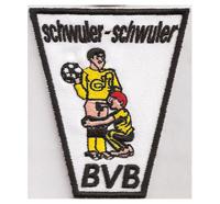 Anti Borussia Dortmund Fussball Fanclub Trikot Aufnäher Schwuler BVB