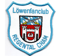 TSV 1860 München Löwen 60er Fanclub Regental Cham Aufnäher Abzeichen