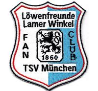 TSV 1860 München Löwen Fanclub Lamer Winkel Lions Trikot AufnäherPatch
