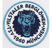 Fussball TSV 1860 München Vilstaler Berglöwen 60er Fanclub Aufnäher