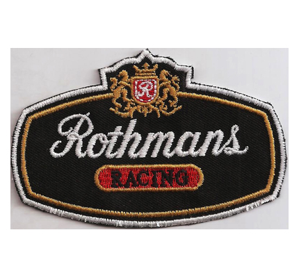 Rothmans Williams Formel1 Vintage Ayrton Senna Renault Aufnäher Patch