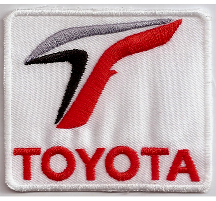 Toyota Lexus Racing Team Motorsport MotoGP Nescar Aufnäher Patch