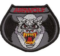Airwolf Modellbau Helikopter RC Serie dvd Aufnäher Abzeichen Patch