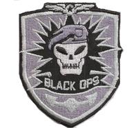 Call of Duty 3 Black Ops PS3 CoD PC Emblem ProGamer Aufnäher Abzeichen
