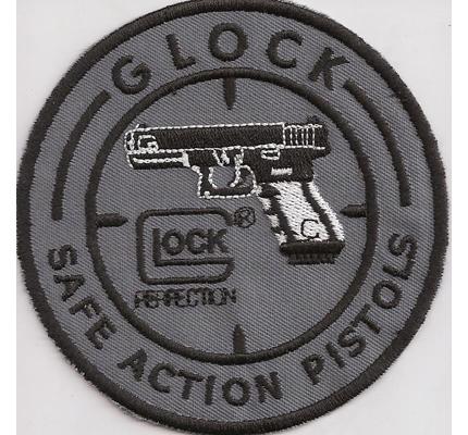 Glock Pistolen Pistole Pistol Safe Action Pistols Aufnäher Abzeichen Patch