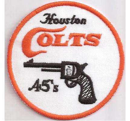 COLTS Houston Pistole Bowie Pistol- 45's Jagdmesser Abzeichen Aufnäher